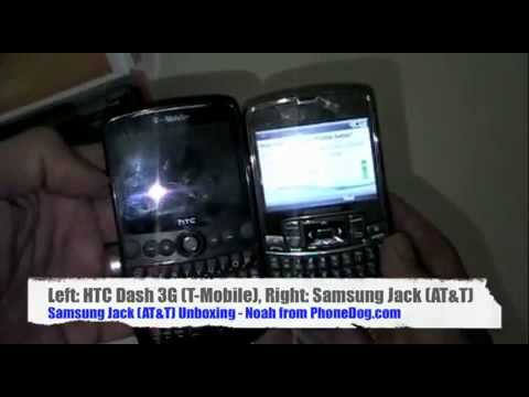 Samsung Jack AT&T   Unboxing