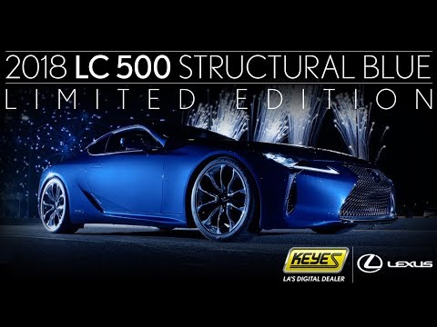 Introducing The Lexus Lc Structural Blue Edition Experience Amazing