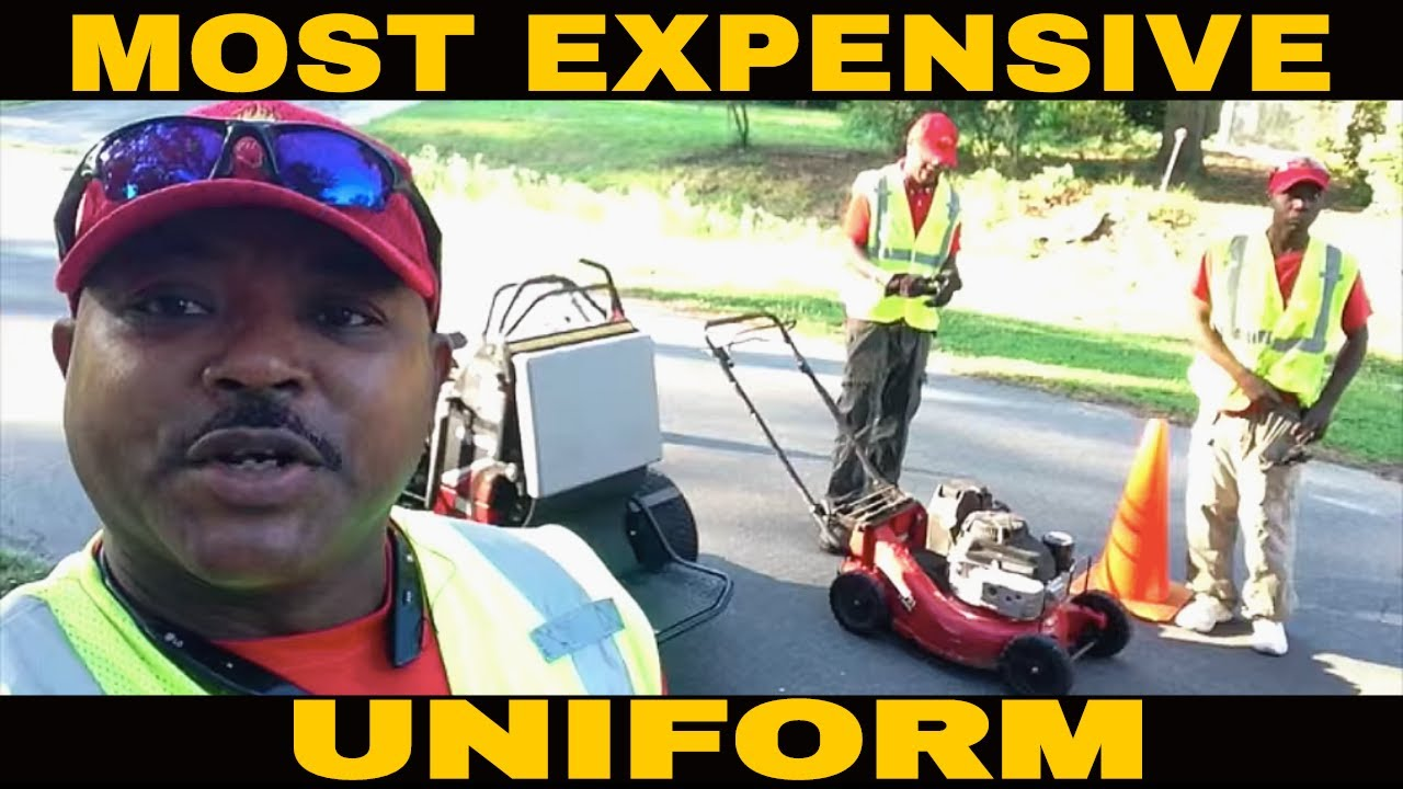 Most Expensive Lawn Care Uniform By Blades Of Grass Lawn