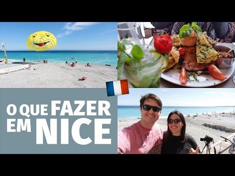 O que fazer em NICE (França) - Roteiro de um dia