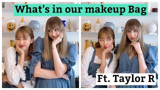 Whats in our Makeup BAG? Ft. Taylor R 💕🙈 Video
