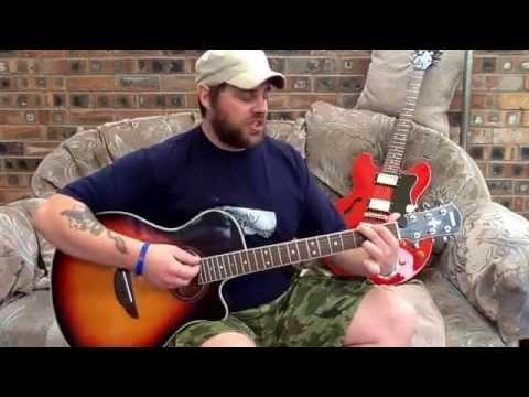Black-Wonderful life-Acoustic guitar lesson.