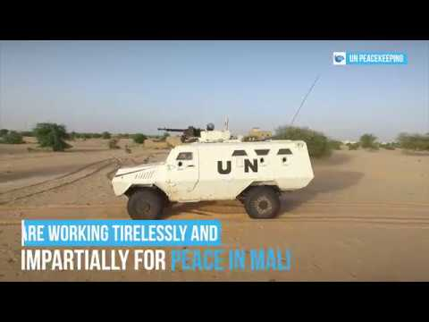 MINUSMA - Peacekeepers Day 2018