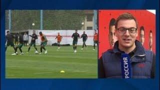 Смотреть видео Сборная Португалии провела открытую тренировку в подмосковном Кратове - Россия 24 онлайн