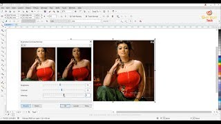 Corel Draw Effect Tabs Adjust Transform Correction Add Perspective Copy Clone Effect