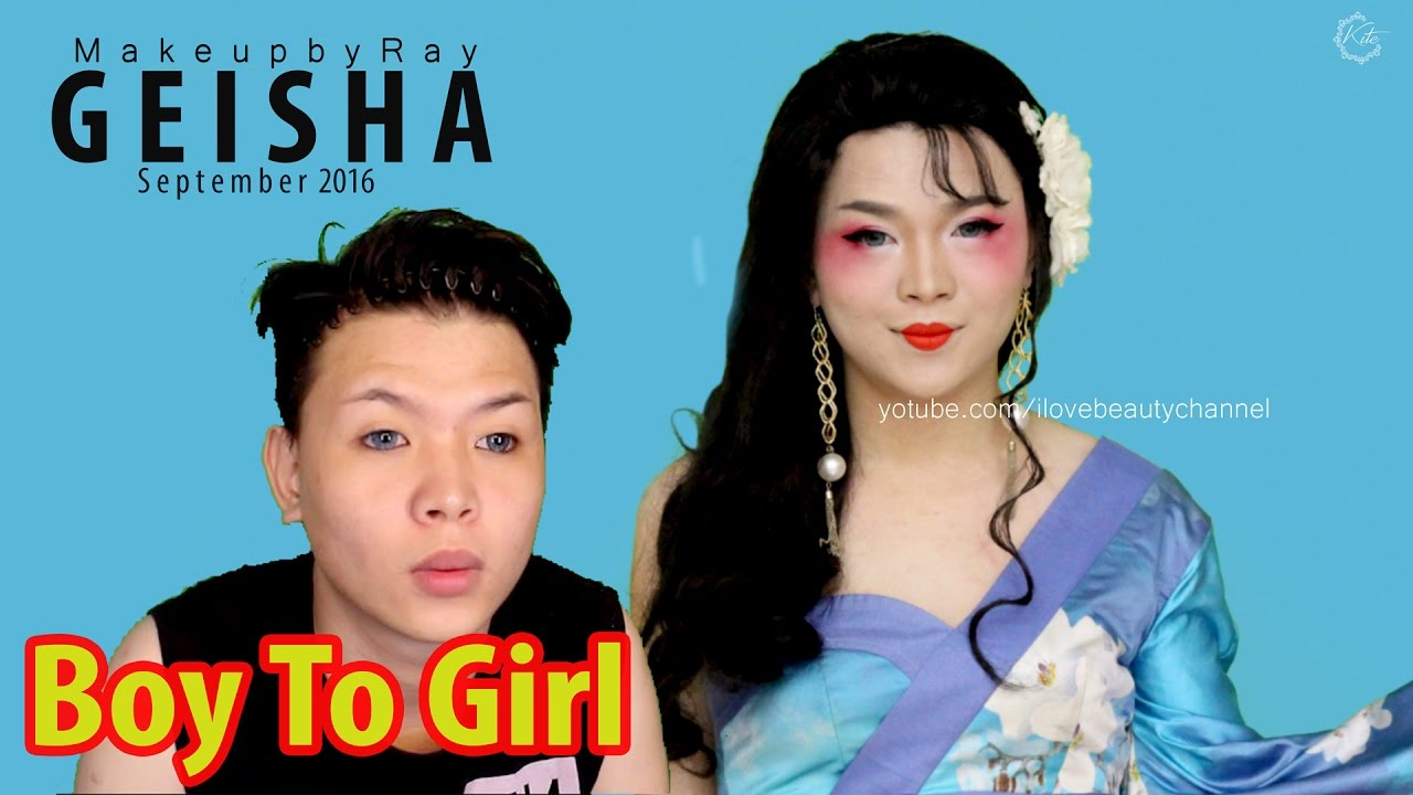transformed geisha Man into