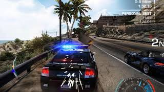 Need For Speed Hot Pursuit 2, Player Doing Police Job