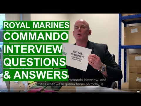 ROYAL MARINES Interview Questions and Answers