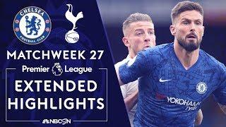 Gambar cover Chelsea v. Tottenham | PREMIER LEAGUE HIGHLIGHTS | 2/22/2020 | NBC Sports