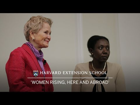 Women Rising, Here and Abroad  |  Lowell Lecture 2018