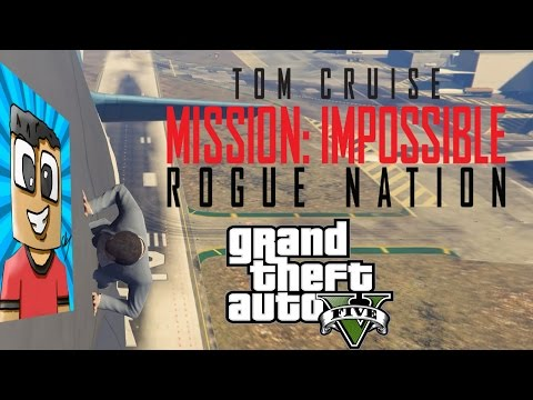 Mission Impossible Rogue Nation Intro Scene in GTA 5 Parody streaming vf
