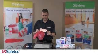 Safetec Bio-Hazard Spill Kits