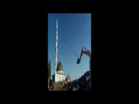 site 14 cami minaresi yıkıldı blc 01