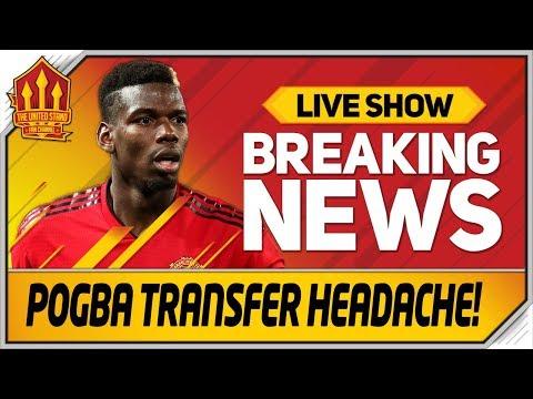 Solskjaer's Pogba Replacements! Man Utd Transfer News
