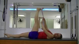 Quadril da alívio da dor perna comprimento