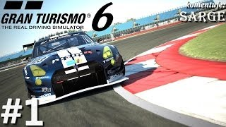 Testujemy grę Gran Turismo 6 (PS3 gameplay #1) - Pierwsze kroki w Karierze (Zagrajmy w GT6)