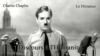 Le Dictateur - Discours à l'Humanité   HQ
