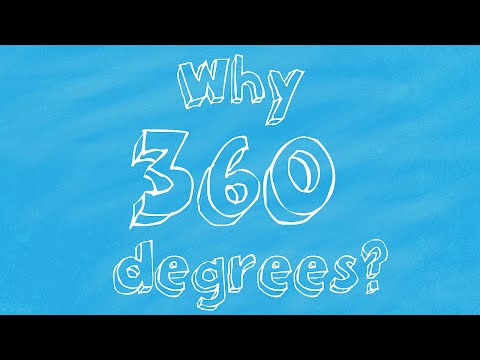 Why are there 360 degrees in a circle? (Maths tutorial)