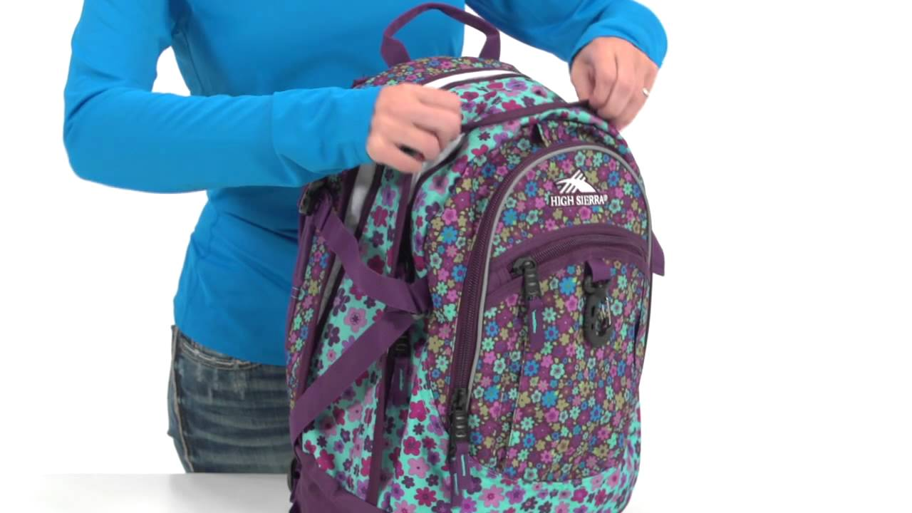 fe5a73885 High Sierra Fat Boy Backpack - YouTube