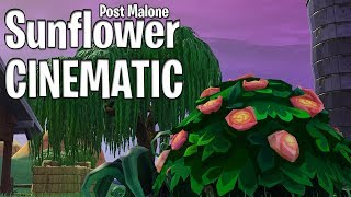 Fortnite Cinematic - Sunflower By Post Malone and Swae Lee