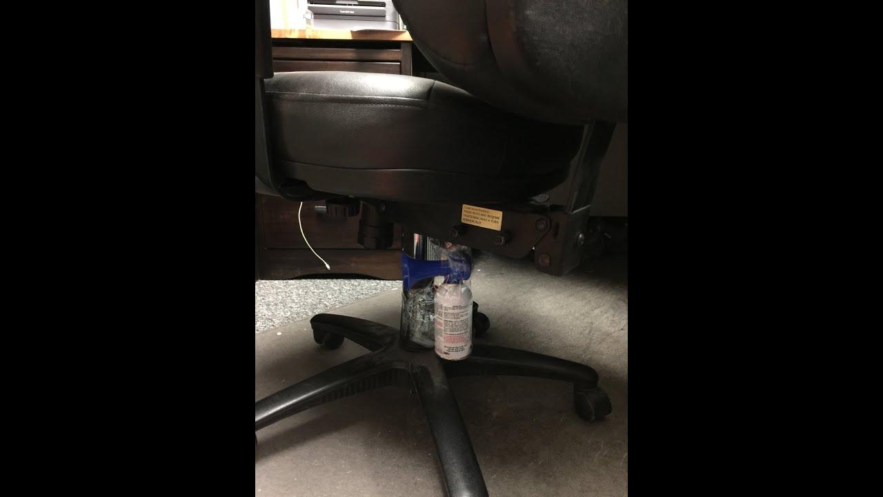 Air Horn under the chair prank