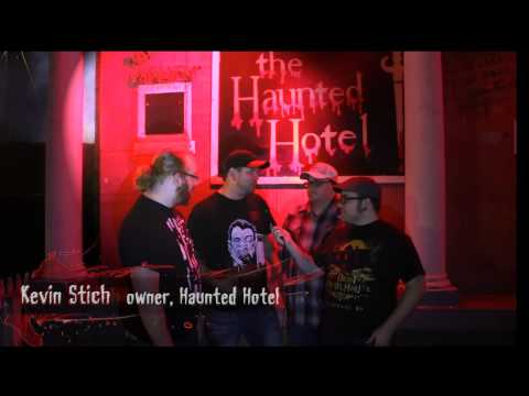 Return of the Living Podcast Visits The Haunted Hotel in Louisville Kentucky!