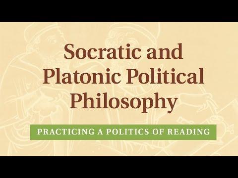 Socratic and Platonic Political Philosophy