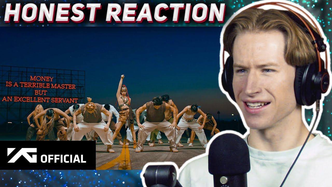 HONEST REACTION to LISA - 'MONEY' EXCLUSIVE PERFORMANCE VIDEO
