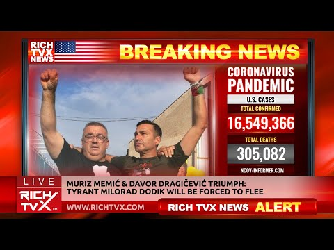 Muriz Memić & Davor Dragičević Triumph: Tyrant Milorad Dodik Will Be forced To Flee – Rich TVX News