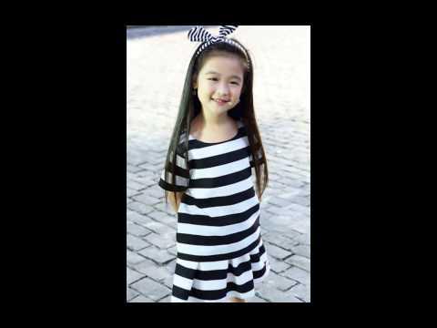 hình ảnh cute của bé Bão Ngọc quán quân2 Gương Mặt Thân Quen Nhí 2015