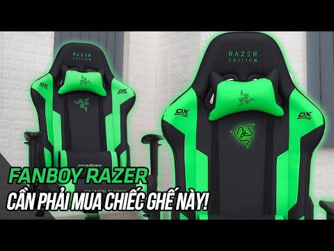 Ghế chơi game Razer là có thật!? Hướng dẫn lắp ghế Dxracer Razer Edition| Playzone TV | Foci