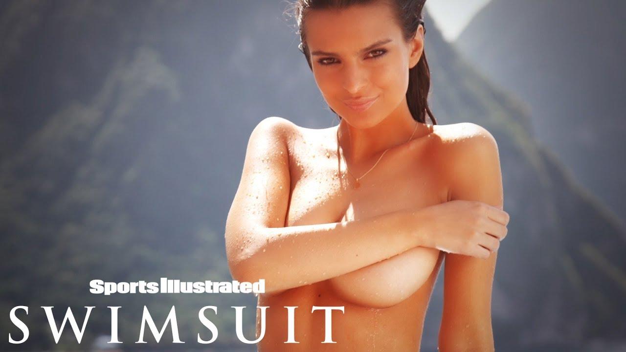 Emily Ratajkowski oben Ohne im Dschungel für Sports Illustrated Swimsuit