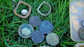 Metal Detecting England - Found Silver Bracelet and Coins! | Nugget Noggin