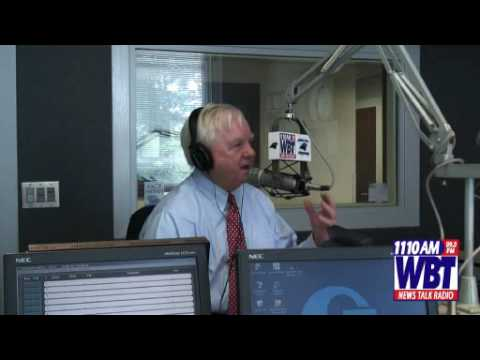 Keith Larson with Park Helms LIVE in the WBT Studi...