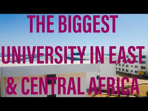 Dodoma Tanzania    The most beautiful University in the World (UNIVERSITY OF DODOMA).