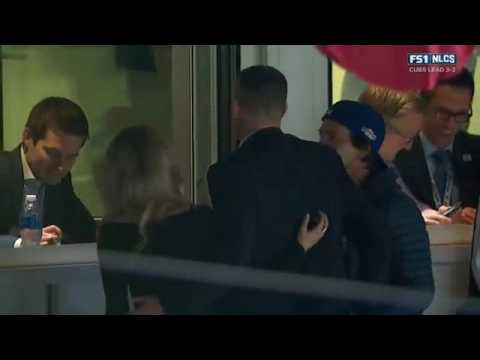 The Last 3 outs of the Chicago Cubs vs Los Angeles Dodgers Game 6 - World Series bound