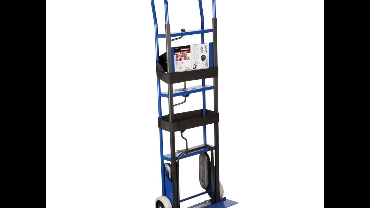 600 Lbs Capacity Appliance Hand Truck