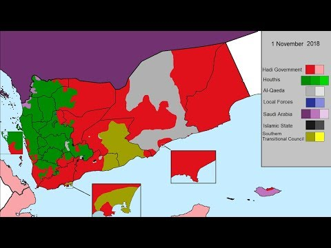 The Yemeni Civil War: Every Day