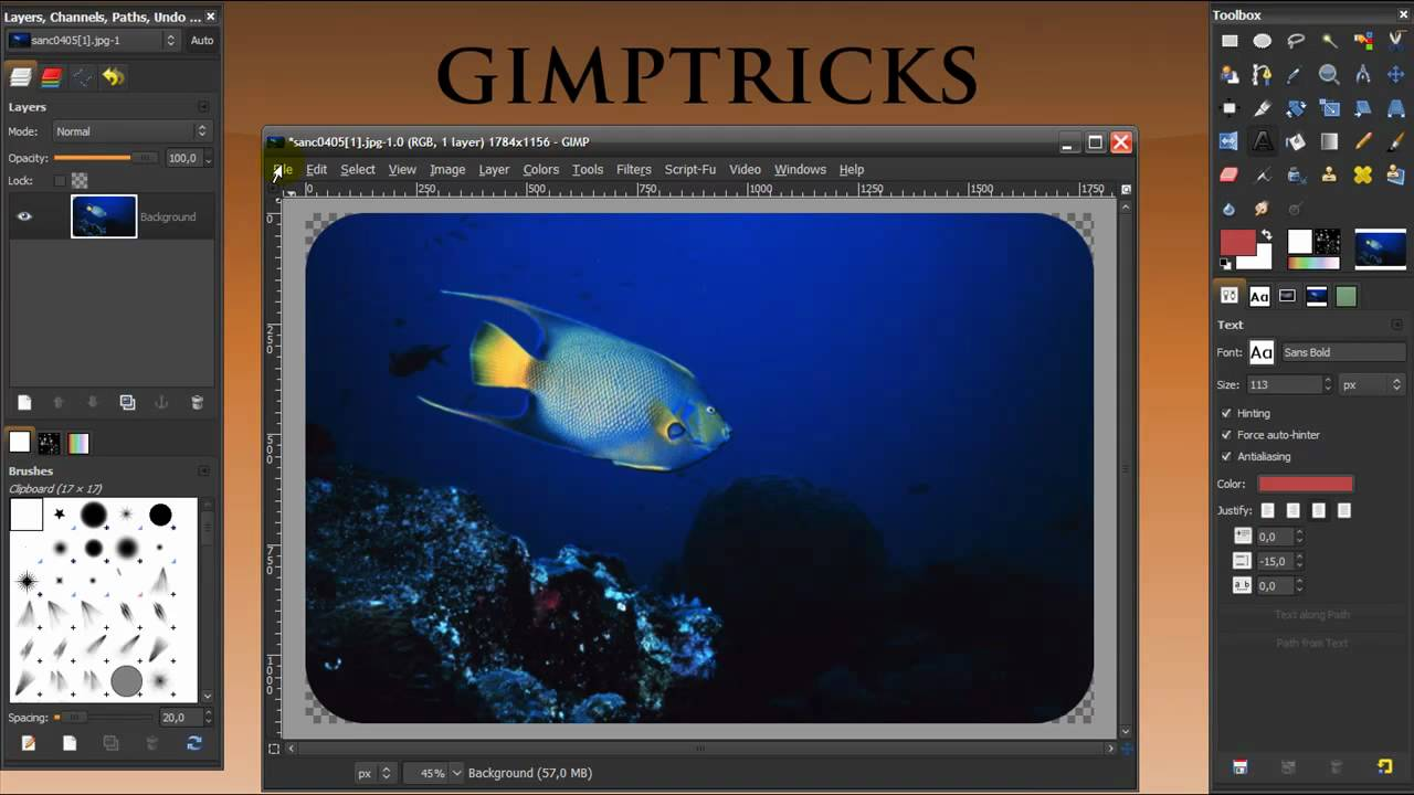 gimp tutorial bloopers special thanks for subscribing
