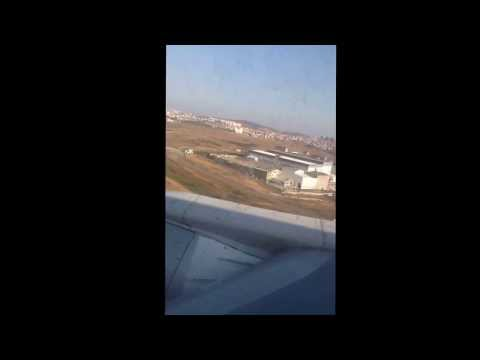 Me on airBaltic B737-500 RIX-SAW 8/8-13 while landing at Sabiha Göchen Int. Apt. in Istanbul. :)