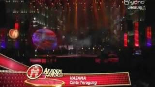 Lirik Lagu Cinta Teragung - Hazama Af9 (Live Final Concert AF9)
