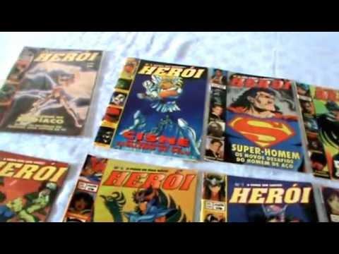 Revistas Herói e Cavaleiros do Zodíaco [coleção]
