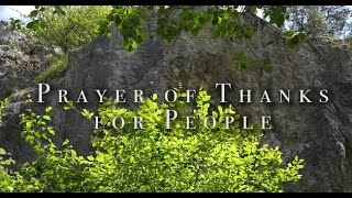 Prayer of Thanks for People HD