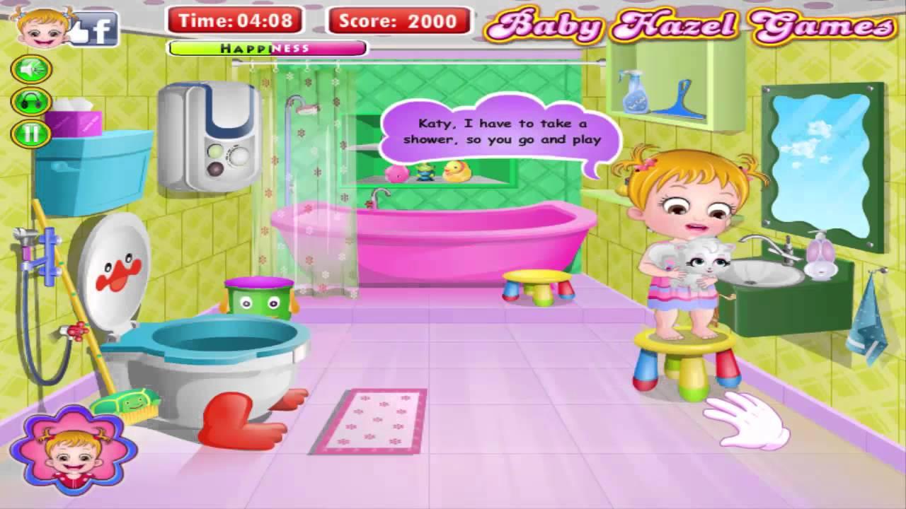 Baby Hazel Games - Bathroom Hygiene Game - Hazel Baby ...