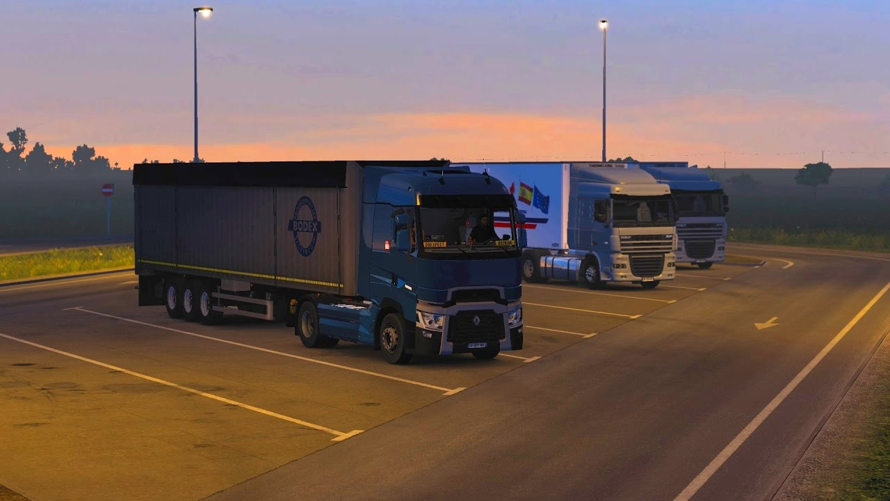 ets 2 promods renault t480 la rochelle. Black Bedroom Furniture Sets. Home Design Ideas