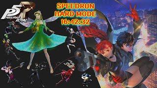 Persona 5 Royal Speedrun Hard Mode(16:42:32)