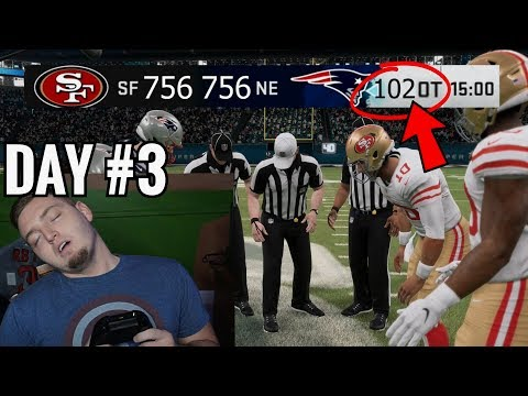 Would the NFL Super Bowl go into INFINITE Overtimes?  