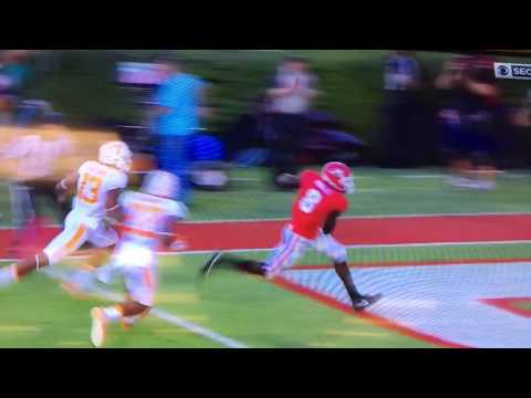 Jacob Eason touchdown pass