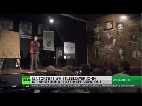 Whistleblower John Kiriakou honored for anti-torture stance