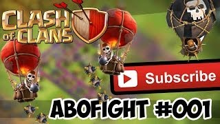 Clash of Clans AboFight Nr. 001 Ballons und Lakaien ;) by lucka